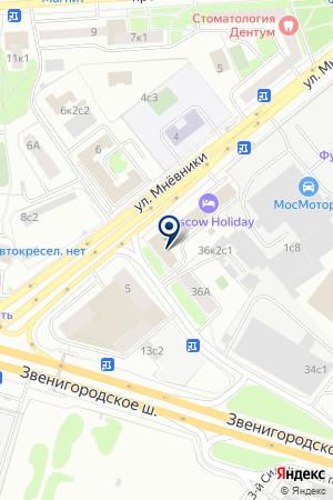 ИНФОРМАЦИОННОЕ АГЕНТСТВО СИРЕНА-ТРЭВЕЛ на карте Москвы