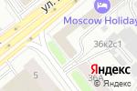 Схема проезда до компании Удачный дом в Москве