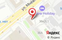 Схема проезда до компании Центр Защиты и Сертификации в Москве