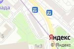 Схема проезда до компании Территория мебели в Москве