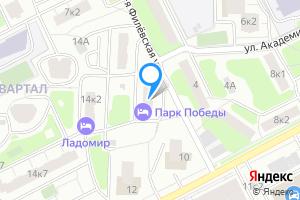 Сдается двухкомнатная квартира в Москве ул. Василисы Кожиной, 14к1