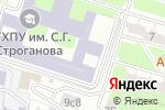 Схема проезда до компании Красный карандаш в Москве