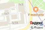Схема проезда до компании Lark art в Москве
