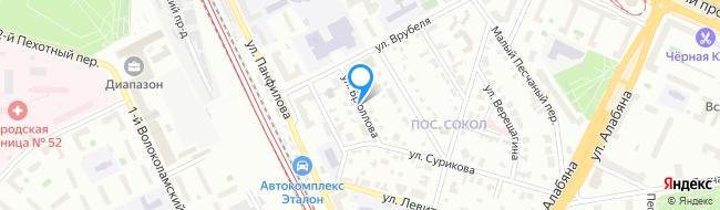 улица Брюллова