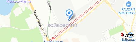 GT-переезд на карте Москвы