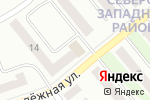 Схема проезда до компании Завхоз в Щёкино