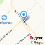 АзАрт на карте Щёкино