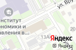 Схема проезда до компании Региональная общественная организация содействия ветеранам Интерпола в Москве