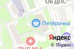 Схема проезда до компании Багирус в Москве