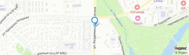 улица Академика Понтрягина