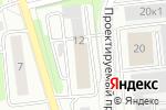 Схема проезда до компании Хит FM в Москве
