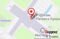 Схема проезда до компании Меристема в Москве
