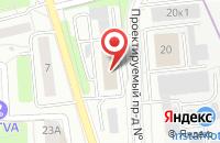 Схема проезда до компании Тв-Домашний в Москве