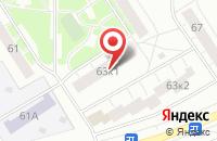 Схема проезда до компании Интэкс-Техника в Москве