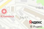 Схема проезда до компании ГринКран в Москве