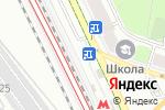 Схема проезда до компании Автостоянка на ул. Панфилова в Москве