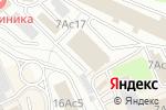 Схема проезда до компании АирGroup в Москве