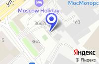 Схема проезда до компании ПТФ ELIS в Москве