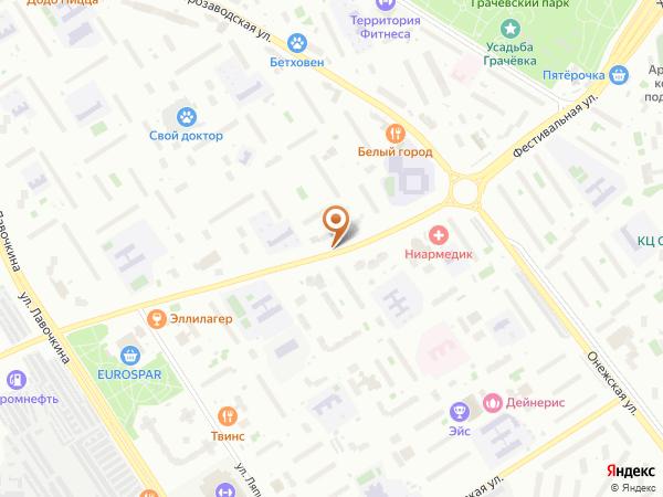 Остановка Фестивальная ул., 65 в Москве