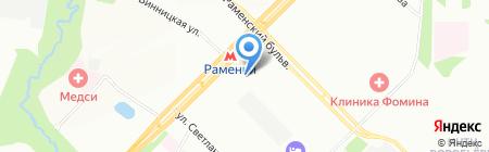 Маленькие Взрослые на карте Москвы