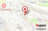 Схема проезда до компании Ностра-Принт в Москве