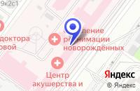 Схема проезда до компании ДЕТСКИЙ СПОРТИВНЫЙ КЛУБ SCHERING в Москве