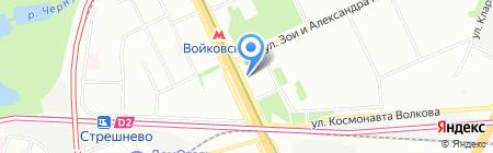 Экспедиа на карте Москвы