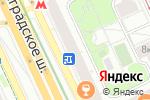 Схема проезда до компании МЕТРО Хоум в Москве