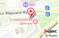 Схема проезда до компании Стамо в Москве