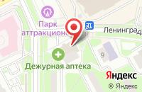 Схема проезда до компании Магнит в Подольске