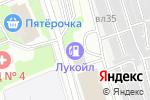Схема проезда до компании АЗС ЛУКОЙЛ в Москве