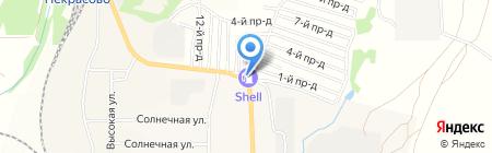 АЗС Россервис на карте Барсуков