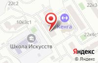 Схема проезда до компании Норилка в Москве