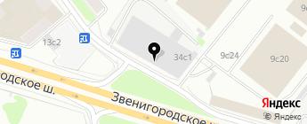 Comfort-Mat на карте Москвы