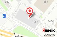 Схема проезда до компании Термомеханика в Москве