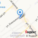Магазин сантехники и систем водоснабжения на карте Щёкино