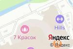 Схема проезда до компании Экотепло в Москве