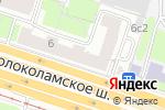 Схема проезда до компании Bello Fiori в Москве