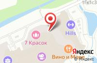 Схема проезда до компании КонтурСтрой в Москве