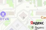 Схема проезда до компании Аксения в Москве