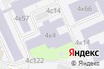 Схема проезда до компании Оскбэс Маи в Москве