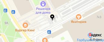 Багратион на карте Москвы