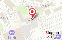 Схема проезда до компании Артипринт в Москве
