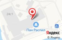 Схема проезда до компании Пан-Распил в Москве