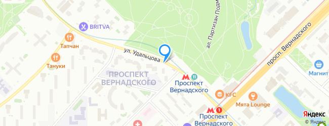 улица Удальцова