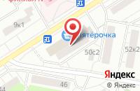 Схема проезда до компании Нефед в Москве