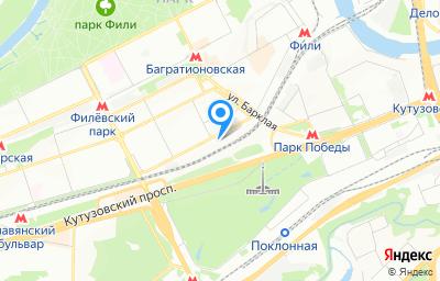Местоположение на карте пункта техосмотра по адресу г Москва, ул Василисы Кожиной, д 11