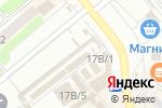 Схема проезда до компании Акцент в Щёкино