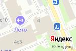 Схема проезда до компании Event-агентство Creon в Москве