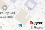 Схема проезда до компании Напольные системы в Москве